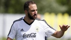 Милан проявява интерес към Гонсало Игуаин