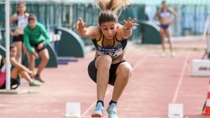 Александра Начева скочи 14.00 метра за №1 в света в тройния скок