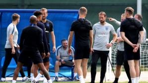Англия се отказа от официалната тренировка преди мача с Тунис