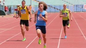 Веселин Живков прати в историята 33-годишен рекорд на Таланта