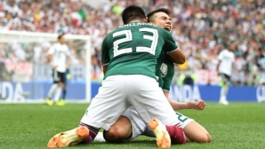 Мексико разтърси краля Германия (видео + галерия)