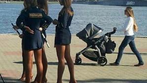 """Азиатските фенове """"плакнат око"""" по руските полицайки на Мондиал 2018"""