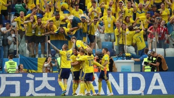 Швеция - Южна Корея (съставите)