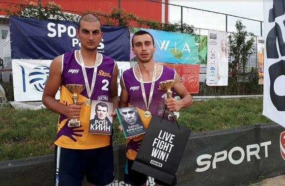Бонжолов и Славков спечелиха първия турнир от Beach Volley Mania 2018 (видео)
