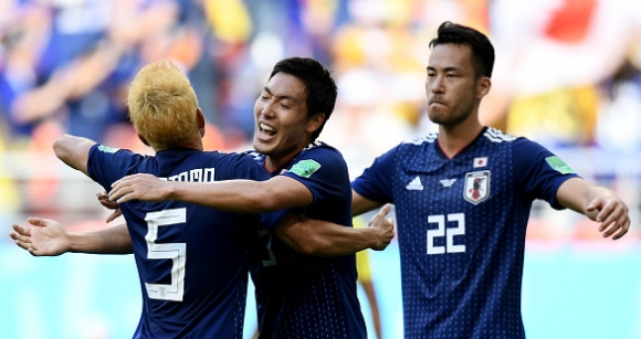 Япония пречупи десетима от Колумбия (видео + галерия)|escape