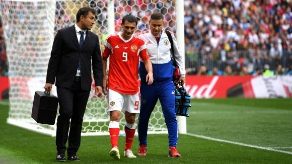 Дзагоев може да се възстанови за осминафиналите на Мондиал 2018