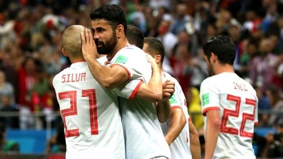 Испания надви Иран с мъка и късмет (видео + галерия)|escape