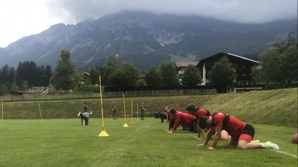 ЦСКА-София с първа тренировка в Австрия