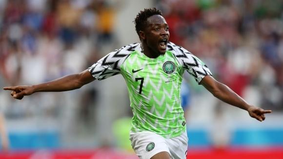 Муса е играч на мача Нигерия - Исландия