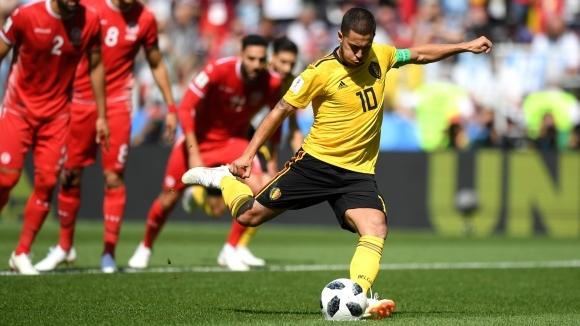 Азар е играч на мача с Тунис