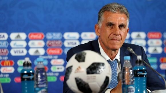 Кейрос предупреди Португалия, че футболистите на Иран излизат за мечтата