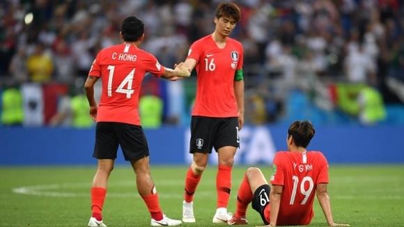 Капитанът на Корея аут срещу Германия