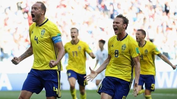 Трима футболисти на Швеция страдат от стомашен вирус