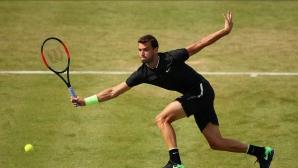 Григор Димитров се върна на петото място в световната ранглиста