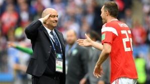 Черчесов: Вярвам в отбора и във футболистите