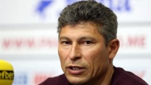 Етър запазва отбора, Красимир Балъков остава начело