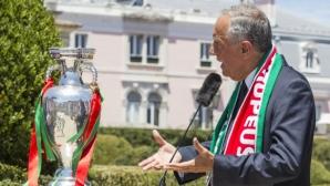 Президентът на Португалия: Роналдо е уникат