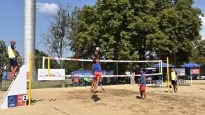 Божурище домакин на първенство по плажен волейбол