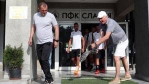 Загорчич доволен от Славия