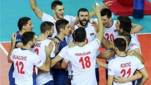 Сърбия гледа към финалите на Лигата след лесна победа над Канада (видео + снимки)