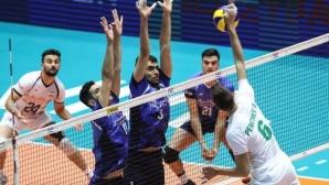 Слаба България взе само гейм на Иран в Техеран (видео + галерия)
