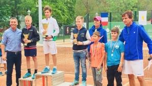 Три титли за България в четвъртото издание на тенис турнира Royal cup