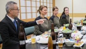 Шеф на японската гимнастика даде вечеря за българските гимнастички