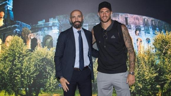Дзаниоло и Сантон пристигнаха в Рим