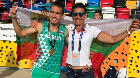 Антонио Иванов с норматив за Световното и на 200 м