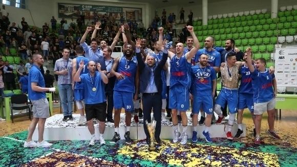 Левски Лукойл ще играе в първия квалификационен кръг на Шампионската лига по баскетбол