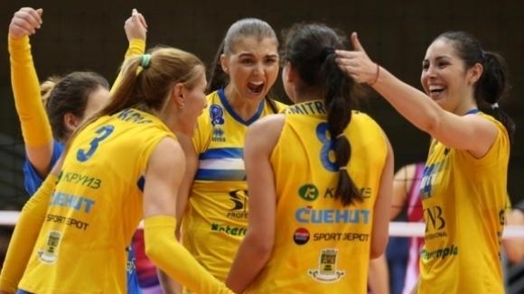 Марица ще играе в групите на Шампионската лига по волейбол при жените
