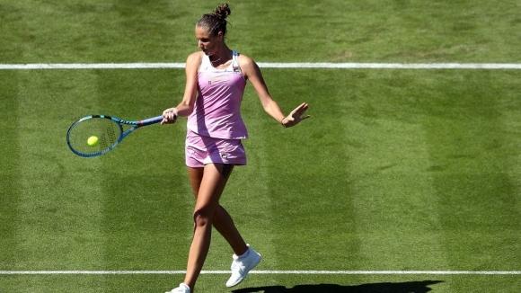 Защитаващата титлата си Плишкова отпадна на 1/4-финалите в Ийстбърн