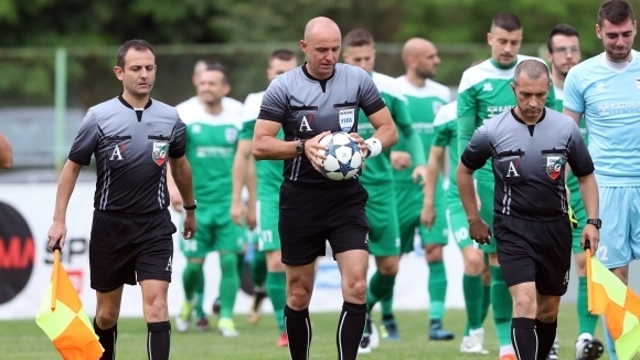 Български съдия ръководи мач от Лига Европа