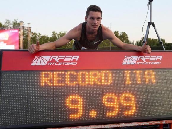 Филипо Торту - първият италианец под 10 секунди на 100 метра