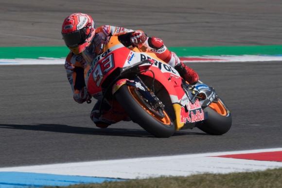 Маркес победи Винялес в третата MotoGP тренировка с 0.001 сек