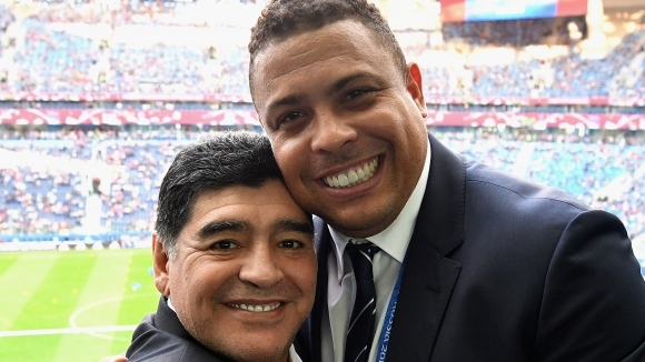 Марадона към Роналдо: Ако не бяха контузиите ти, щеше да бъдеш най-великият