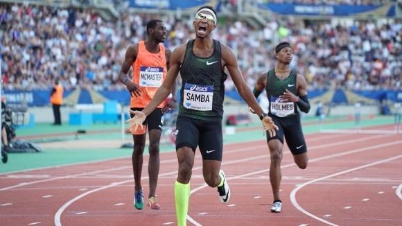 Чудовищно бягане на Самба го изведе на второ място във вечната ранглиста на 400 м/пр