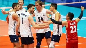 САЩ разплака Италия в последния мач в Модена (видео + снимки)