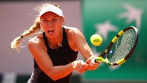 Плишкова и Вожняцки се класираха за третия кръг на турнира в Ийстбърн