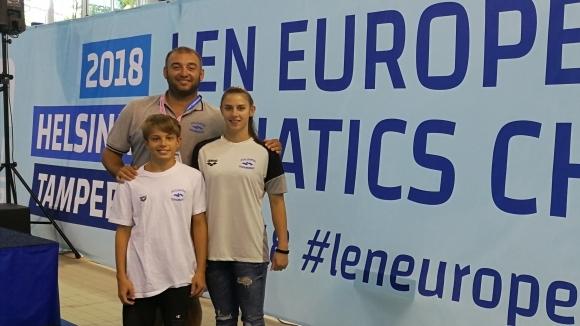 Добро класиране на Витанов и Балева на Европейското по скокове във вода