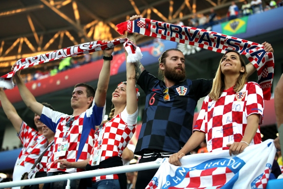 Мощна подкрепа за Хърватия в Сочи