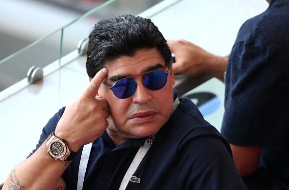ФИФА осъди поведението на Диего Марадона