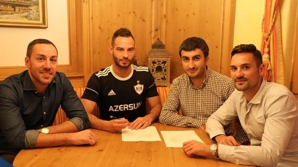 Официално: Симеон Славчев подписа договор с Карабах