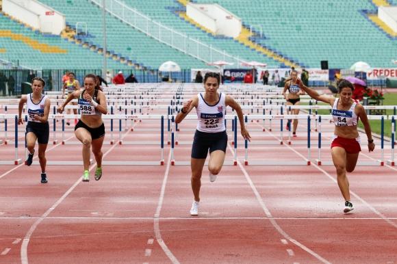 Станислав Станков и Елена Митева шампиони на 110 м/пр и 100 м/пр