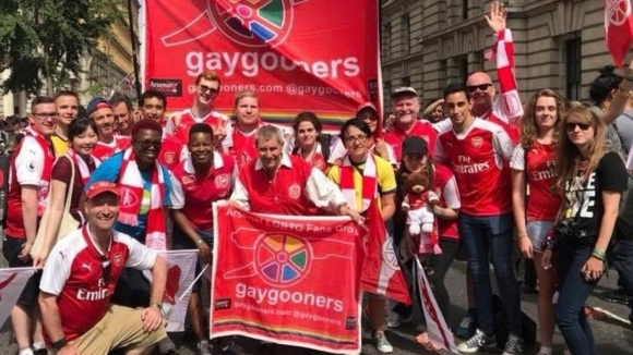 Арсенал поздрави гей артилеристите