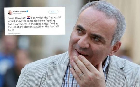 Каспаров поздрави Хърватия за победата над Русия