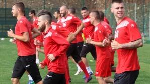 Царско село се готви с осем нови футболисти (видео+снимки)