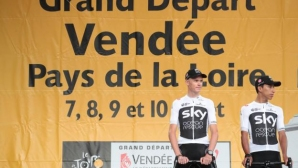 Освиркаха Фрум и Team Sky във Франция