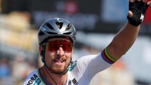 Петър Саган спечели втория етап от Обиколката на Франция и поведе (видео + снимки)