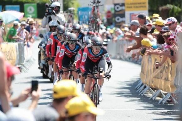 Отборът на БМС Рейсинг тийм спечели отборното багане по часовник на Тур дьо Франс